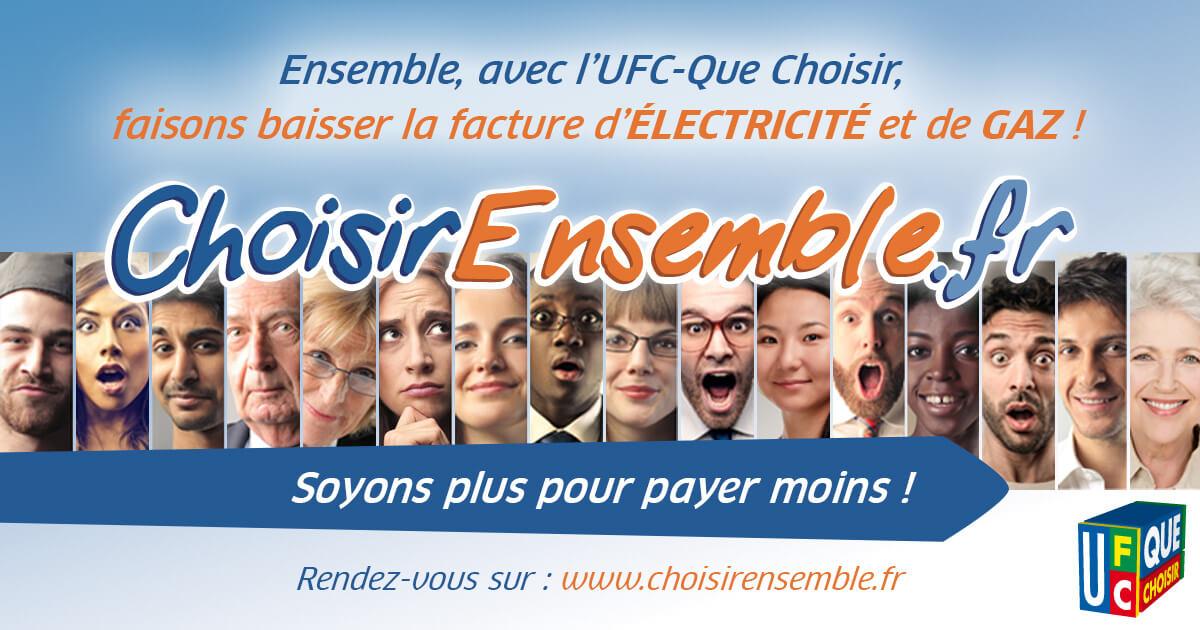 Energie Moins Chère Ensemble - Achat groupé d'énergie - SAS Que Choisir
